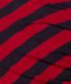 czarno-czerwone paski